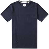 Rag And Bone Standard Issue Pocket Tee Blue