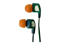 Skullcandy Smokin Bud 2 2015 Explorer Forest Green Headphones Orange