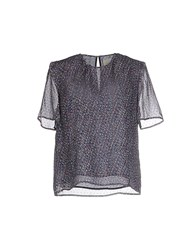 Band Of Outsiders Shirts Blouses Women Blue