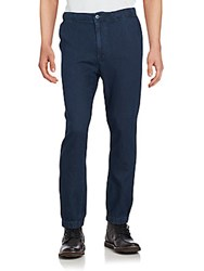 Ag Adriano Goldschmied Cotton Blend Solid Pants Maldi