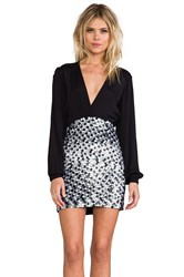 Bless'ed Are The Meek Wild Side Dress Black
