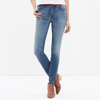 Madewell Tall High Riser Skinny Skinny Jeans In Thom Wash