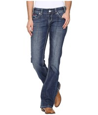 Rock And Roll Cowgirl Low Rise Bootcut In Medium Vintage W0 8462 Medium Vintage Women's Jeans Blue