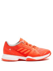 Adidas By Stella Mccartney Barricade Low Top Trainers Orange