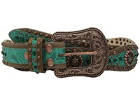 Ariat Scalloped Belt Green Women's Belts