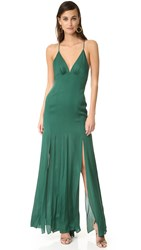Haute Hippie Low Back Fitted Cami Gown Craig Green