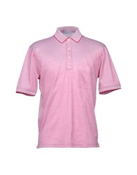 Gran Sasso Polo Shirts Red