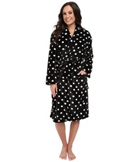 P.J. Salvage Giftables Dot Robe Black Women's Robe