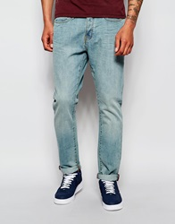 New Look Light Wash Slim Fit Jeans Blue