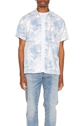 Levi's Premium Short Sleeve Sunset Pkt Shirt Blue