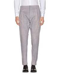 Messagerie Casual Pants Dove Grey
