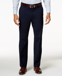 Alfani Men's Traveler Navy Solid Classic Fit Pants Only At Macy's