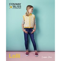 Debbie Bliss Conway For Lolli Children's Zip Front Cardigan Knitting Pattern 019