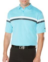 Callaway Golf Performance Athletic Printed Stripe Polo