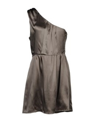 Magazzini Del Sale Short Dresses Grey