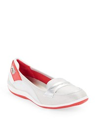 Anne Klein Welcome Cushioned Flats Silver