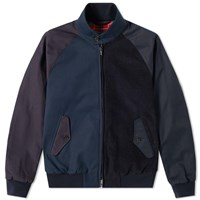Baracuta X Engineered Garments G9 Combo Fabric Jacket Blue