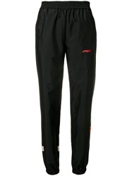 Heron Preston High Waisted Track Trousers Black