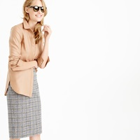 J.Crew Collection Blouse In Italian Cashmere Shirting