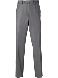 Isaia 'Aquaspider' Trousers Grey