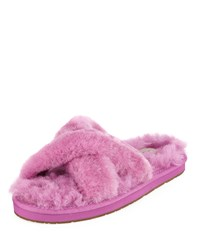 Ugg Abela Shearling And Suede Slipper Bodacious