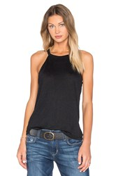 Joe's Jeans Vannie Halter Tank Black