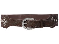 Ariat Elastic Strap With Tapered Buckle Belt Brown Belts
