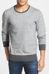 Jeremiah Russell Pullover Sweater Gray