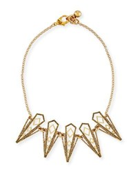 Lulu Frost Voyage Statement Necklace Gold