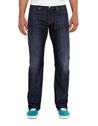 Levi's 514 Straight Fit Shoestring Jeans Blue