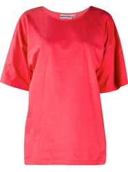 Pierre Cardin Vintage Loose Fit T Shirt Red