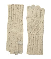 Pendleton Cable Gloves Ivory Mix Extreme Cold Weather Gloves Bone