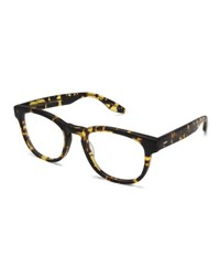 Barton Perreira Men's Byron Universal Fit Square Optical Frames Matte Heroine Chic No Color