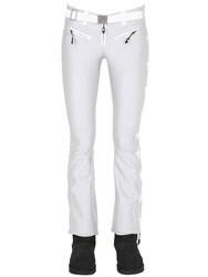 Jet Set Lurex Star Embroidered Nylon Ski Pants