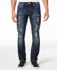 Inc International Concepts Men's Skinny Fit Dark Wash Jeans Only At Macy's