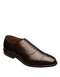 Allen Edmonds Fifth Ave Leather Brogue Oxfords Brown