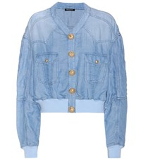 Balmain Denim Jacket Blue