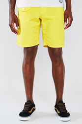 Chums Booby Face Boardshort Yellow