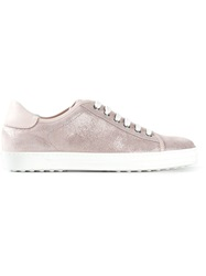 Tod's Sparkle Sneakers Pink And Purple