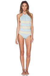Beach Riot The Shine Bright Swimsuit Blue