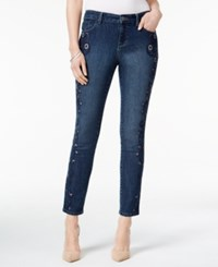 Styleandco. Style Co. Petite Embroidered Hurricane Wash Ankle Jeans Only At Macy's