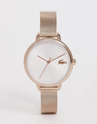 Lacoste Cannes Mesh Watch Gold