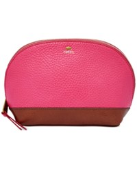 Fossil Mother's Day Leather Cosmetics Case Pomegranate