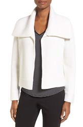 Nordstrom Women's Collection Spread Collar Cashmere Cardigan
