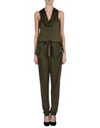 Hotel Particulier Pant Overalls Military Green