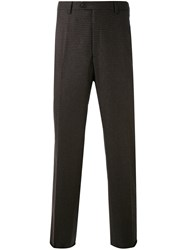 Brioni Tailored Trousers Men Cashmere Virgin Wool 52 Brown