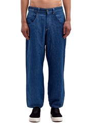 Levis Red Mens Bagged High Wai Black