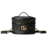 Gucci Gg Marmont Mini Backpack Black