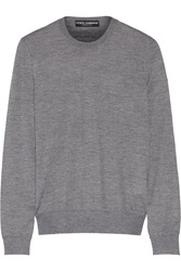 Dolce And Gabbana Cashmere And Silk Blend Sweater