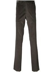 Corneliani Corduroy Trousers Brown